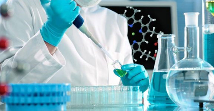 Chemical analysis in laboratory